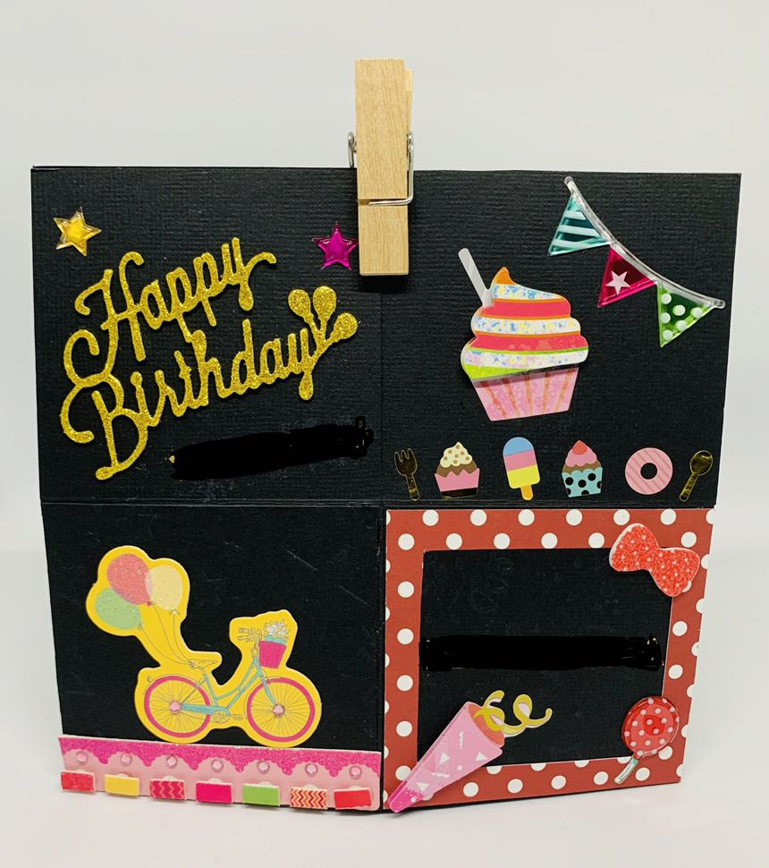 Birthday Card With Pop Up Effect Relationship Proposal 2 In 1