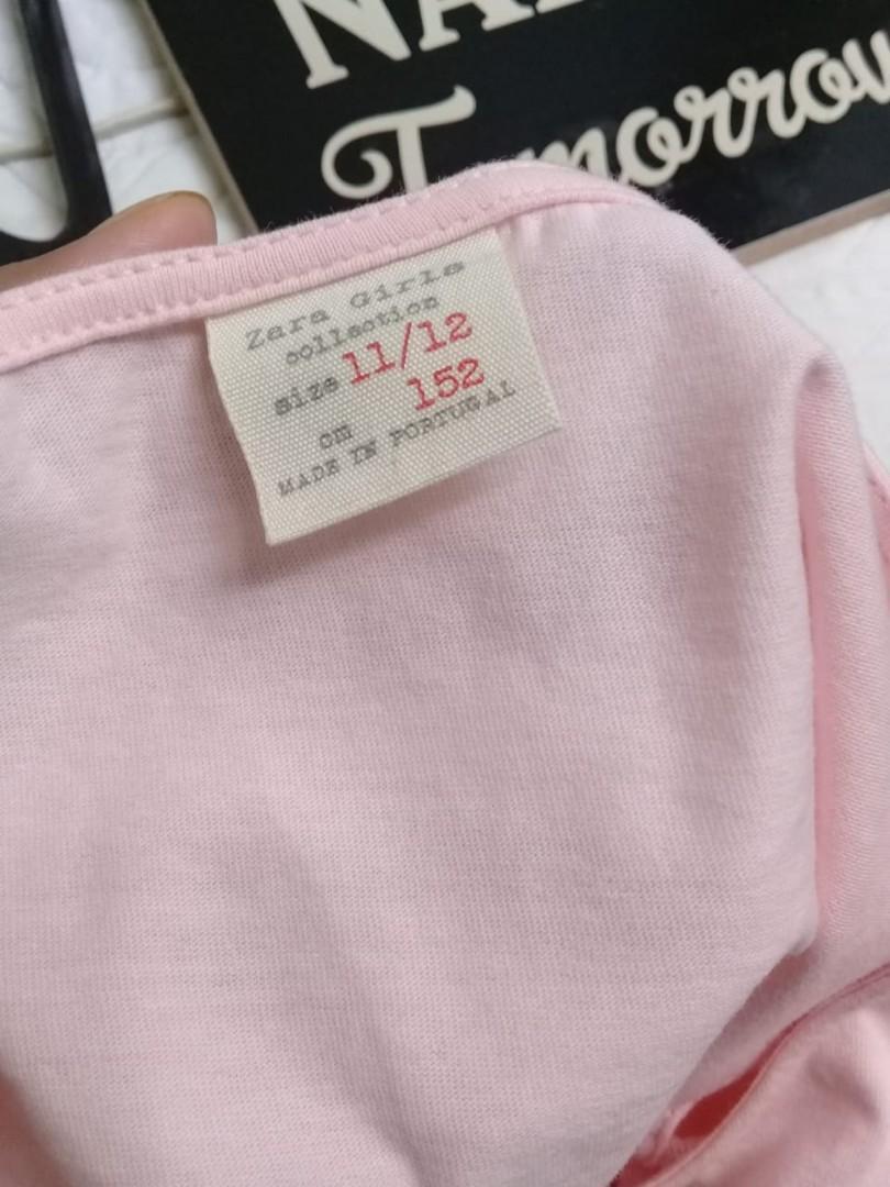 🚫Sale🚫 Zara Blouse anak wanita (soft pink)