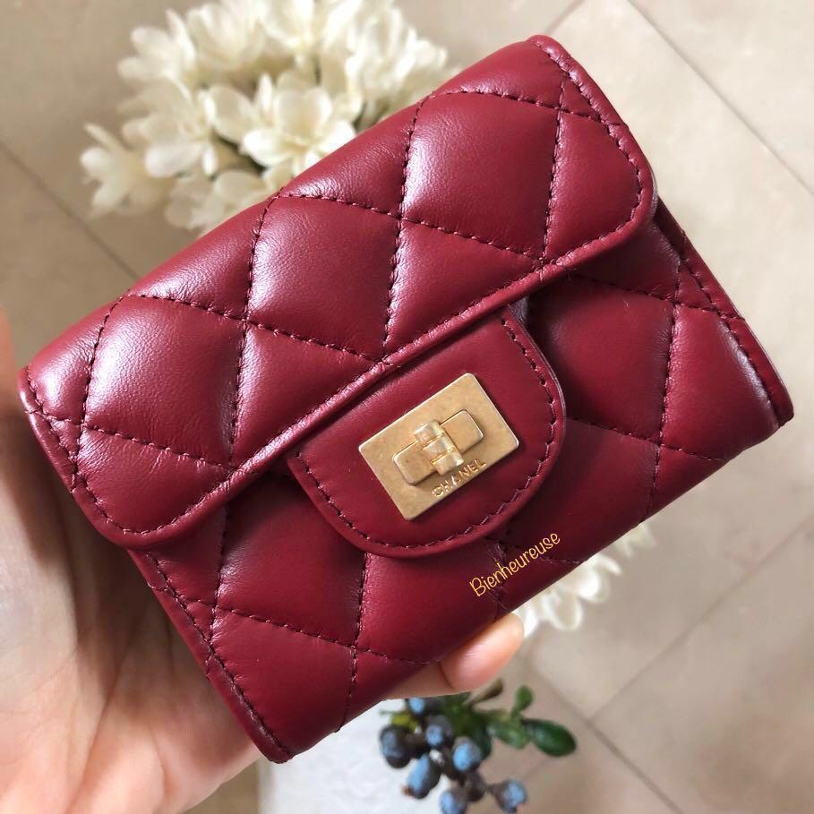 7b17404250ac23 BNIB Chanel Aged Calf Cardholder with Back Pocket, Luxury, Bags ...