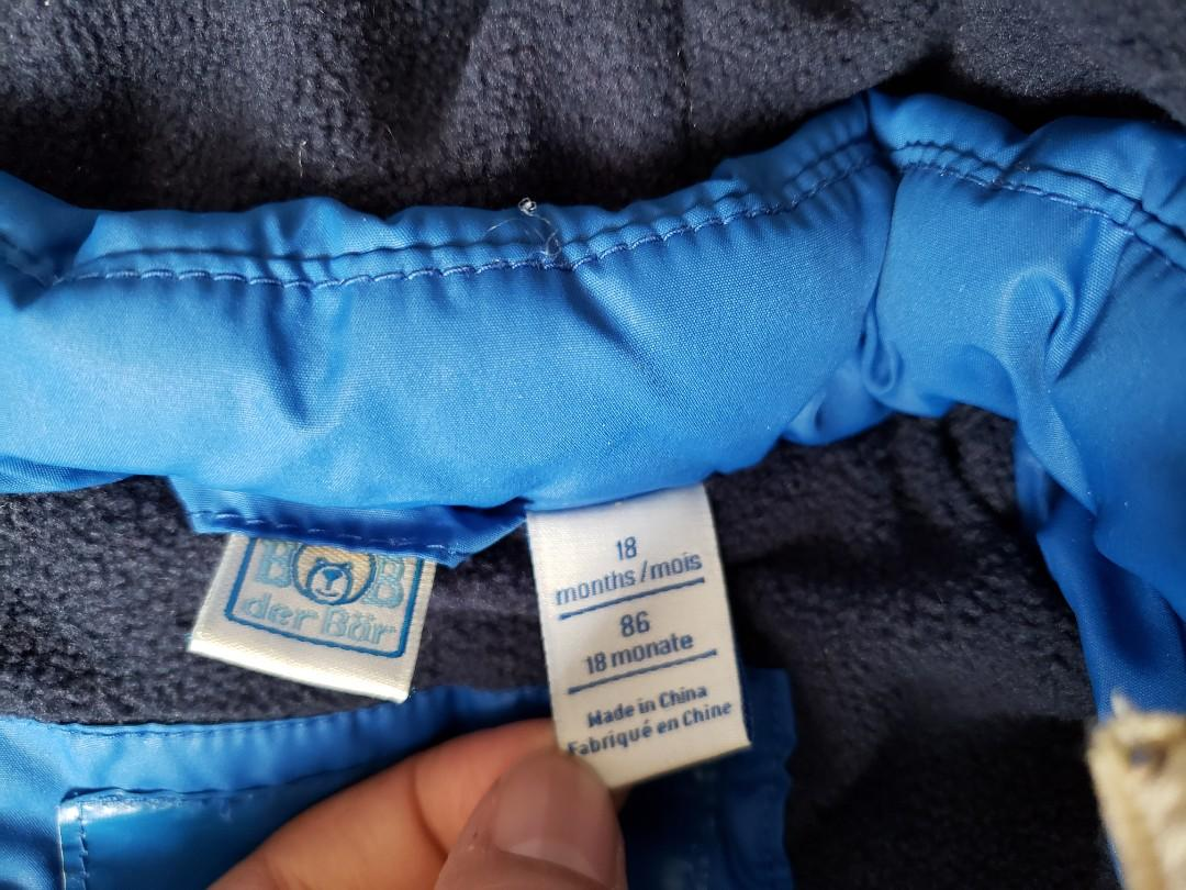 Boy's winter jacket 18mos