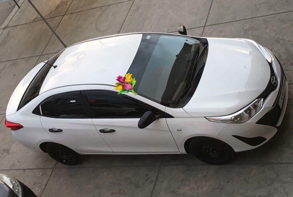 Brand New Bridal Car for Rent/Toyota Vios Freedom White 2018 with Driver