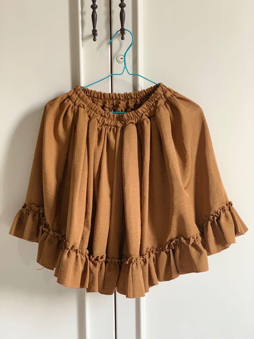 Brown Skirt/Rok cokelat