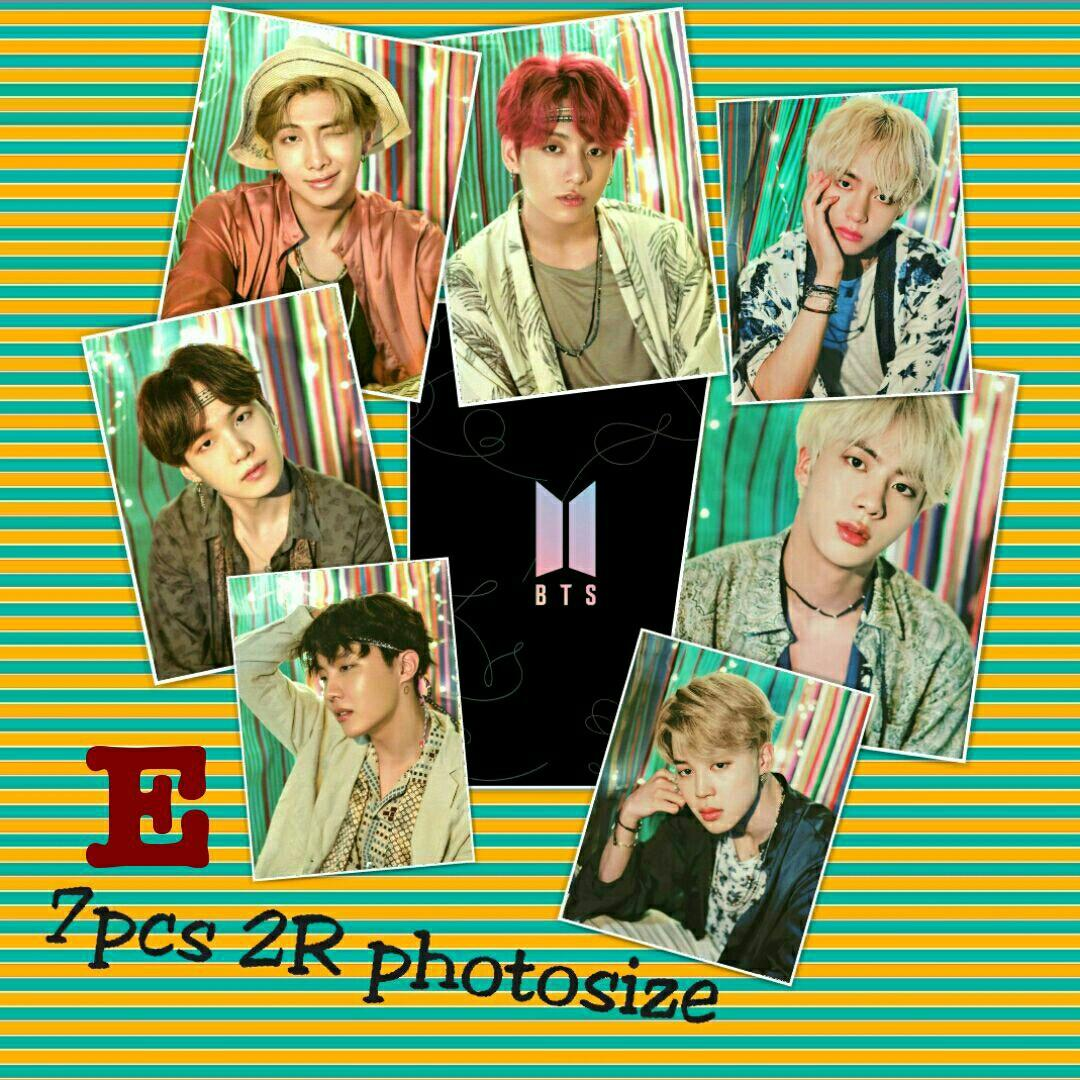 BTS Persona:Map of the Soul 2R Glossy photos