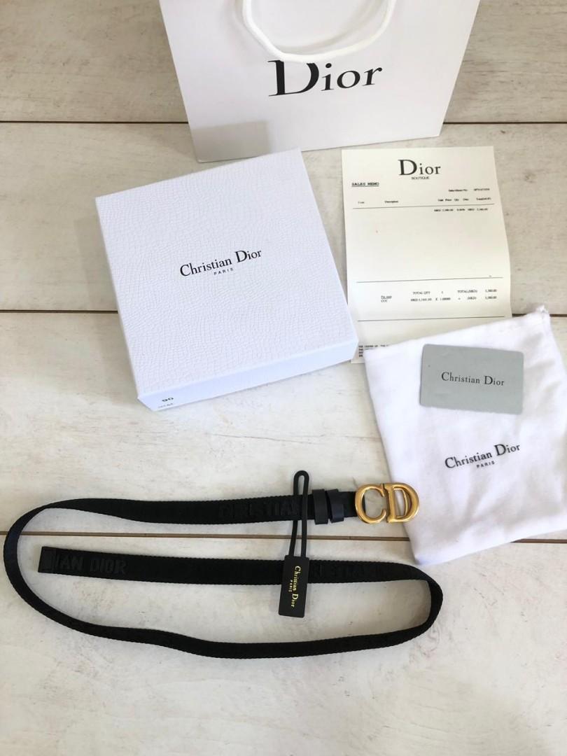 C.Dior Belt 0128, SUPERMIRROR, 2cm, FreeSize, Adjustable   H  @650rb  Berat 400g