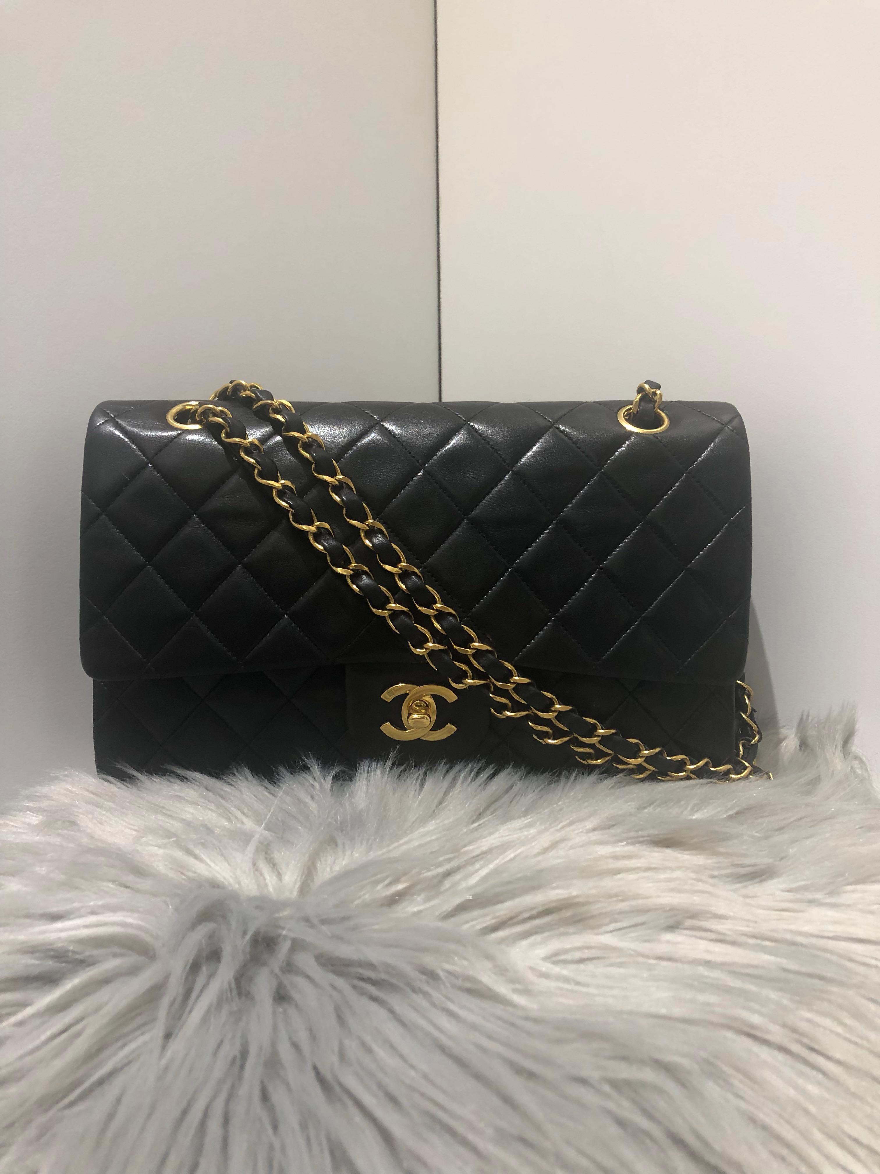 f8c34993a9fc Chanel medium classic flap (10 inch) , Luxury, Bags & Wallets ...
