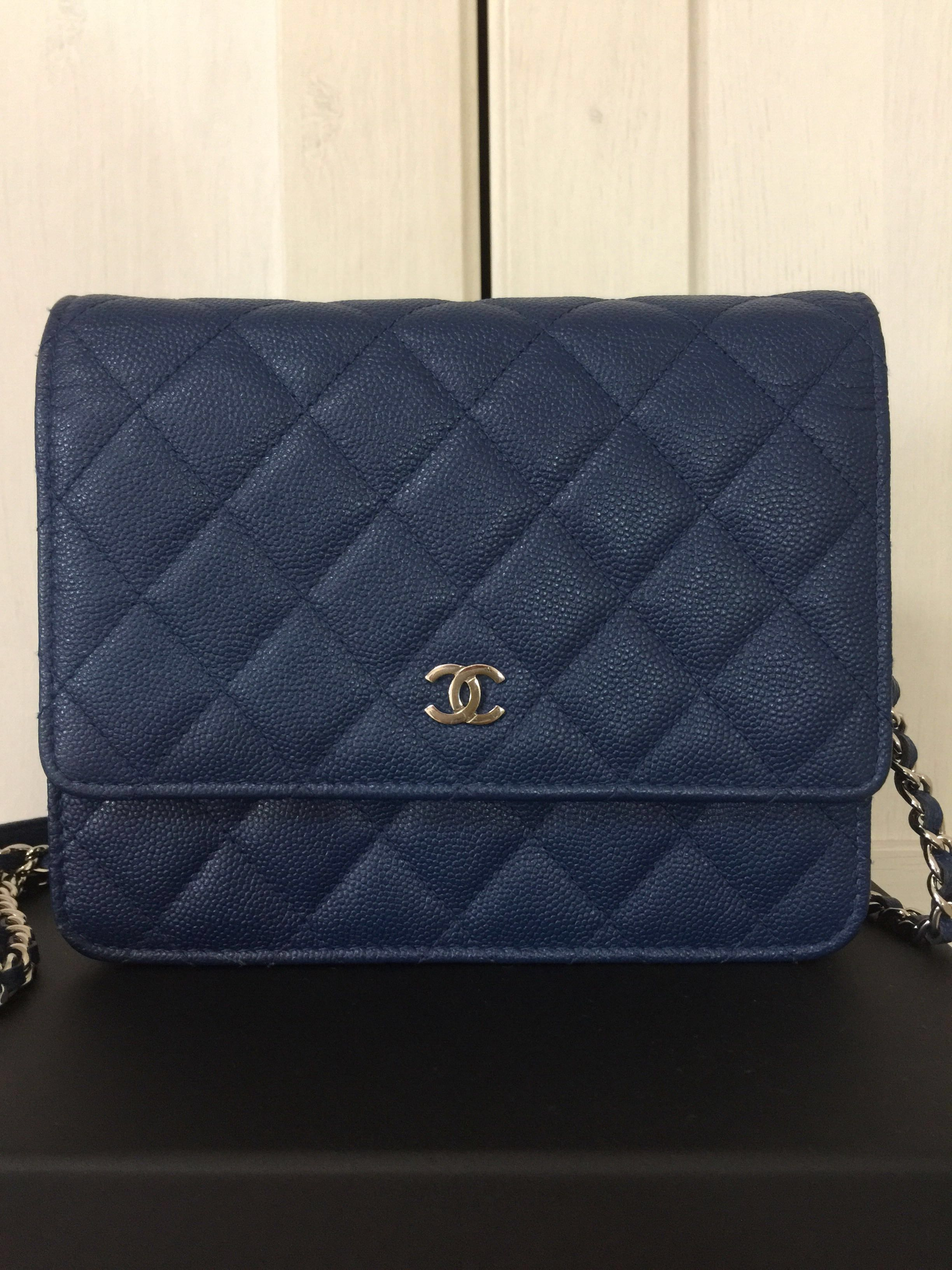 dc408a55a021 Chanel Wallet on Chain WOC (authentic)