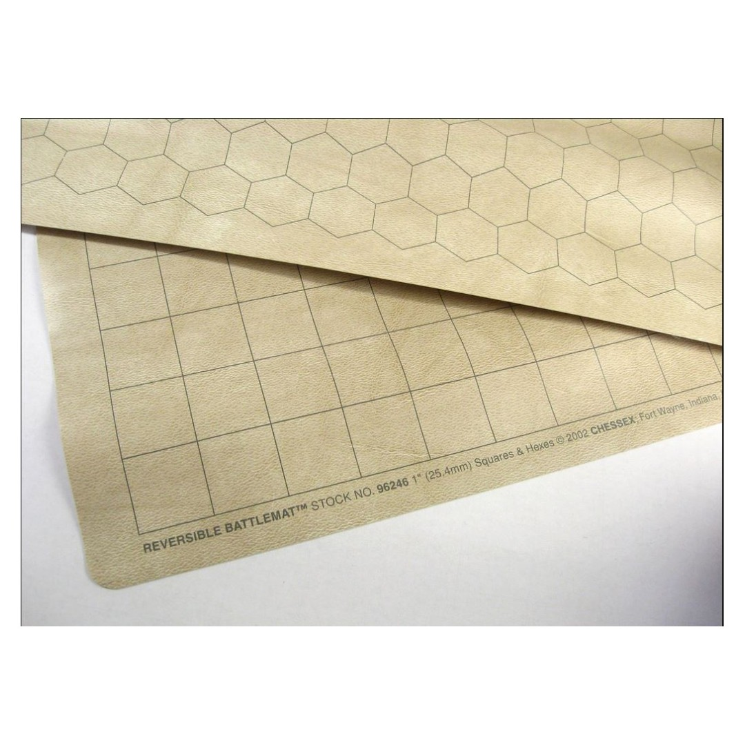 Chessex Vinyl Double Sided Reversible Battlemat - Dungeons
