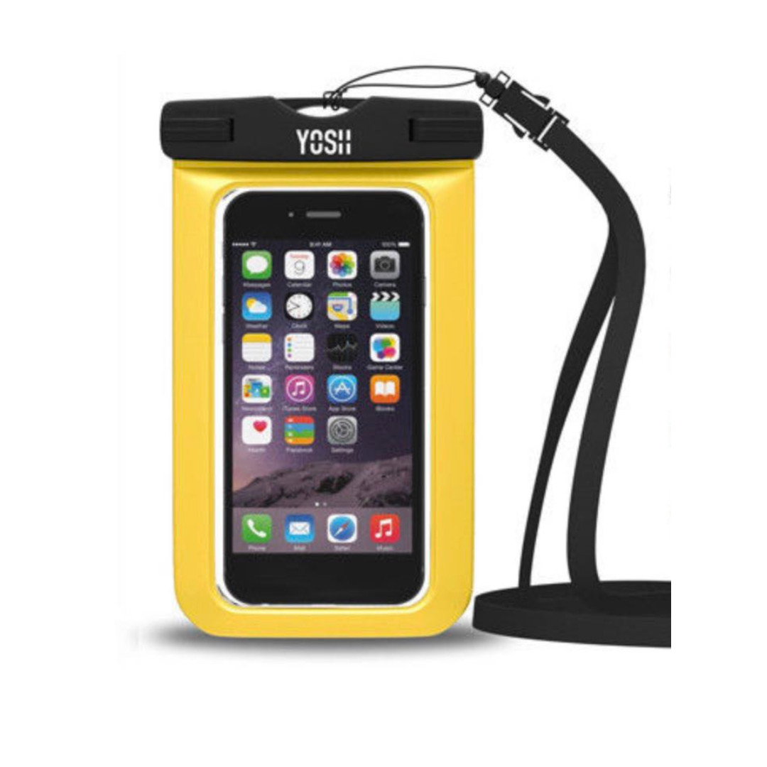 the best attitude 03d83 52dd6 (E1624) Yosh Waterproof Phone Case Lifetime Universal Cell Bag Apple  Samsung Yellow
