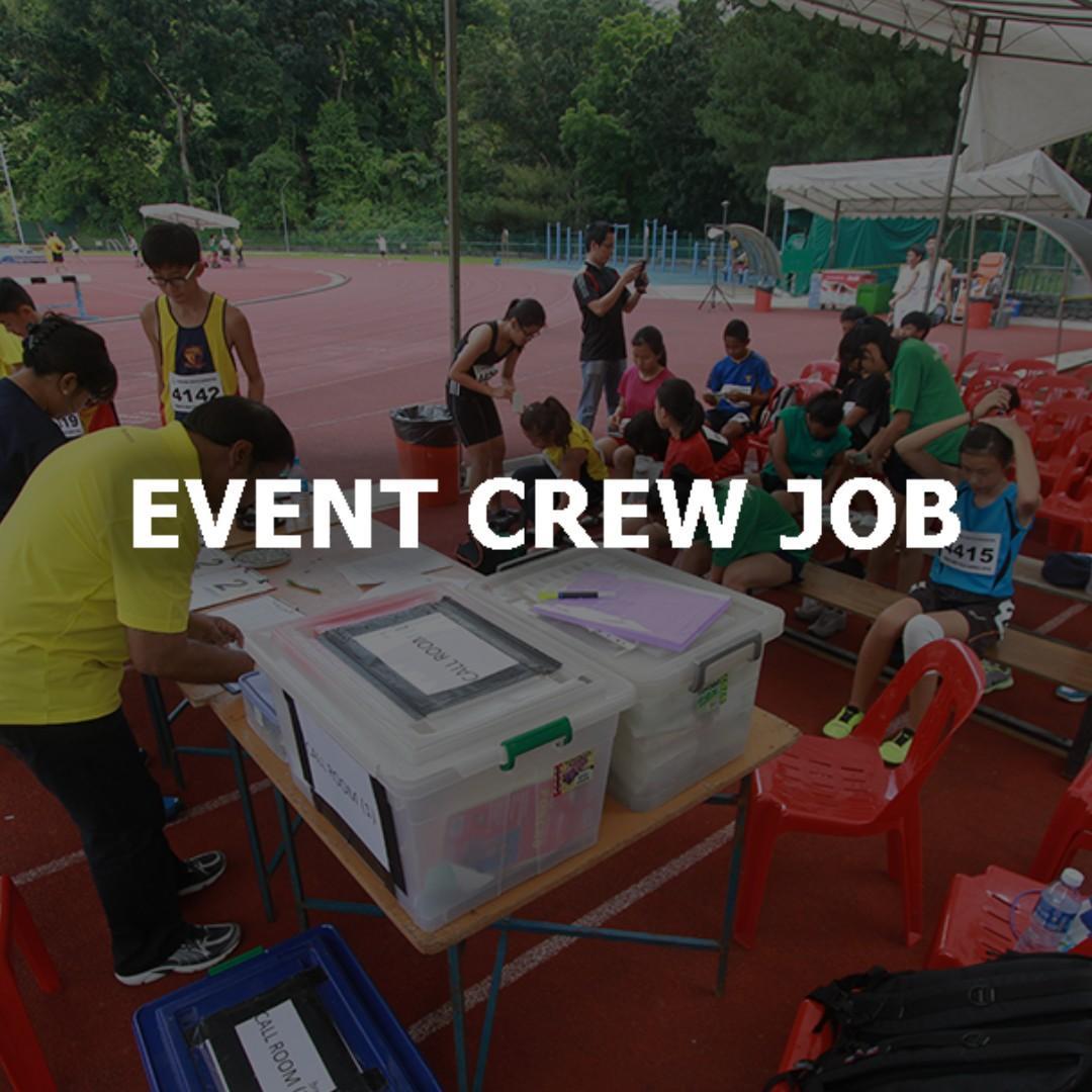 Event Crew x 35 (2 days – 13th & 14th April)