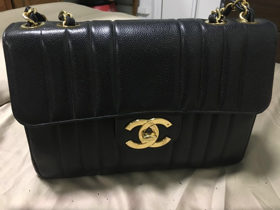 756d328a8e59 FAST DEAL OFFER Authentic Chanel Vintage Caviar