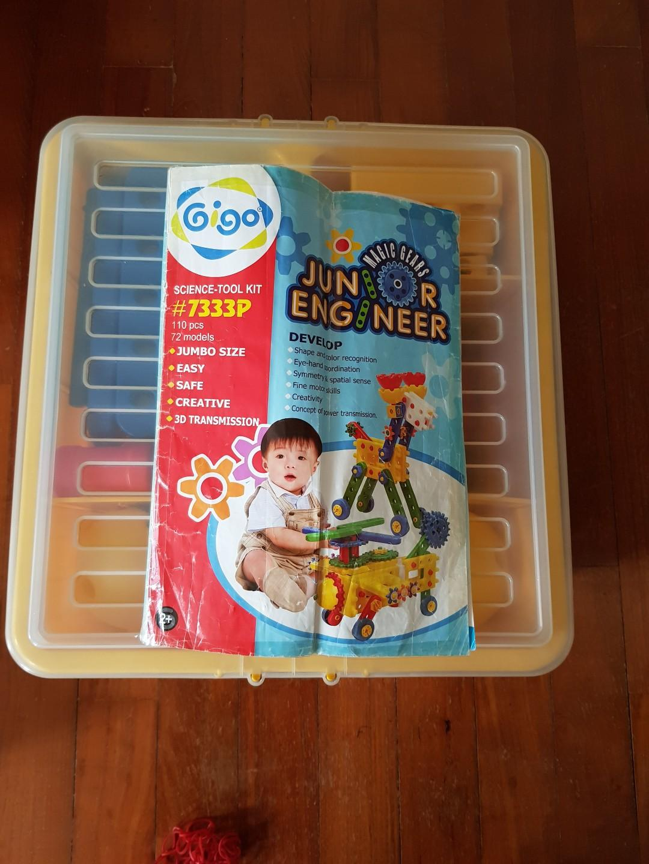 Gigo Junior Engineer set for 2 years up
