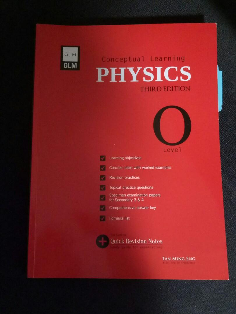 GLM Conceptual learning Physics 3rd ed