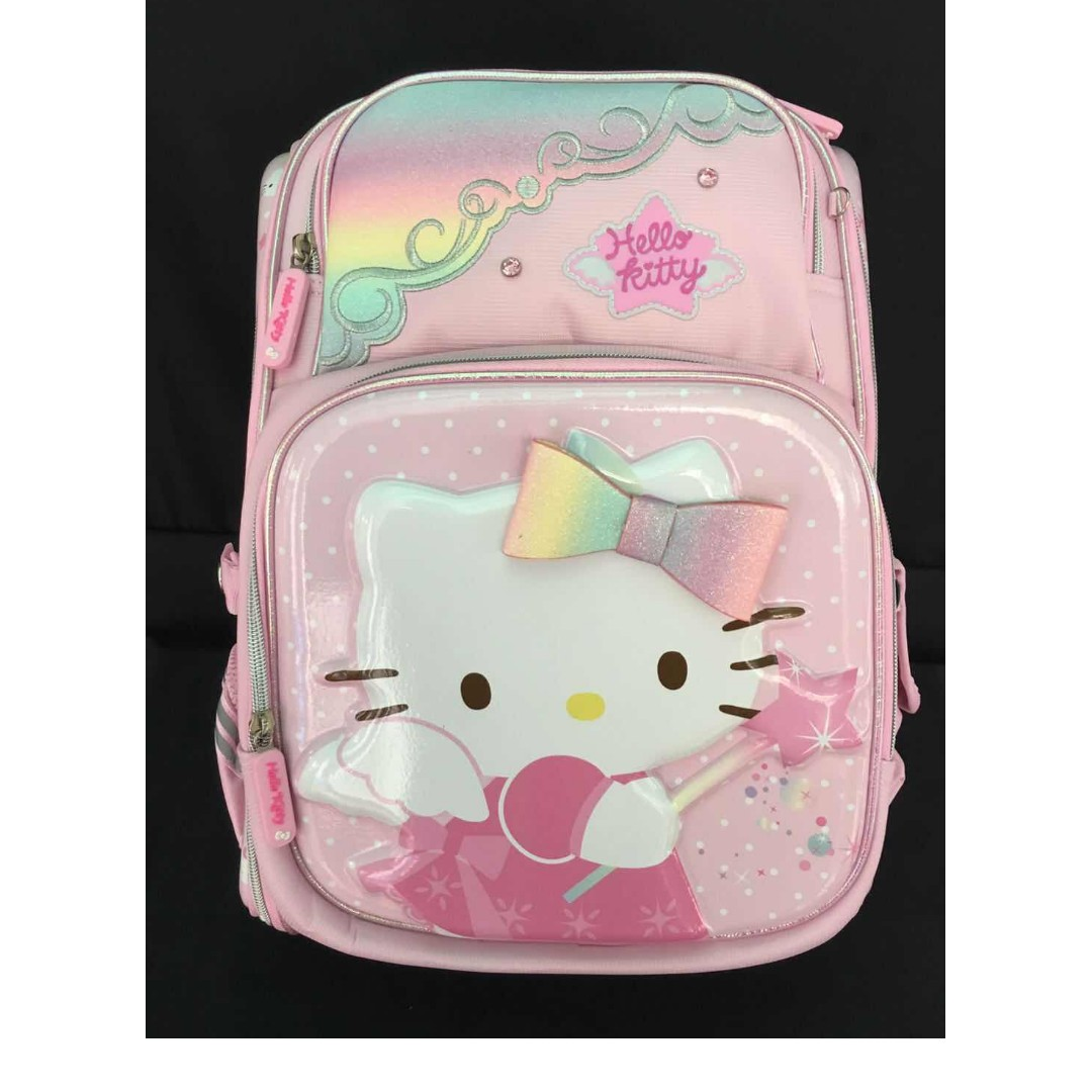 9f9f9ccf4 Hello Kitty Backpack (Sanrio Original), Babies & Kids, Strollers, Bags &  Carriers on Carousell
