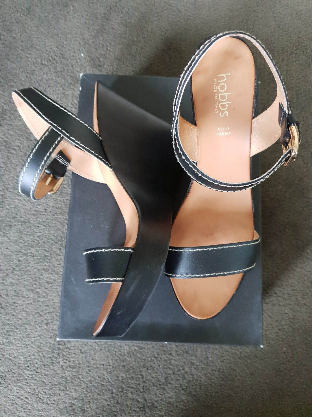 Wedge On SandalsWomen's Hobbs FashionShoes Carousell Black H9YbWD2IeE