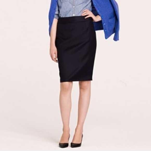 J.Crew/JCrew No.2 Pencil Skirt Suit Business Casual