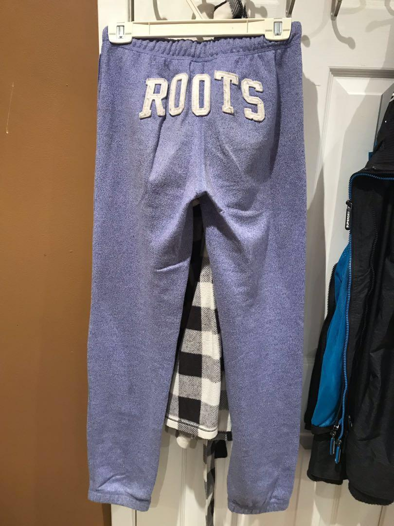 Kids roots Tracksuit Purple