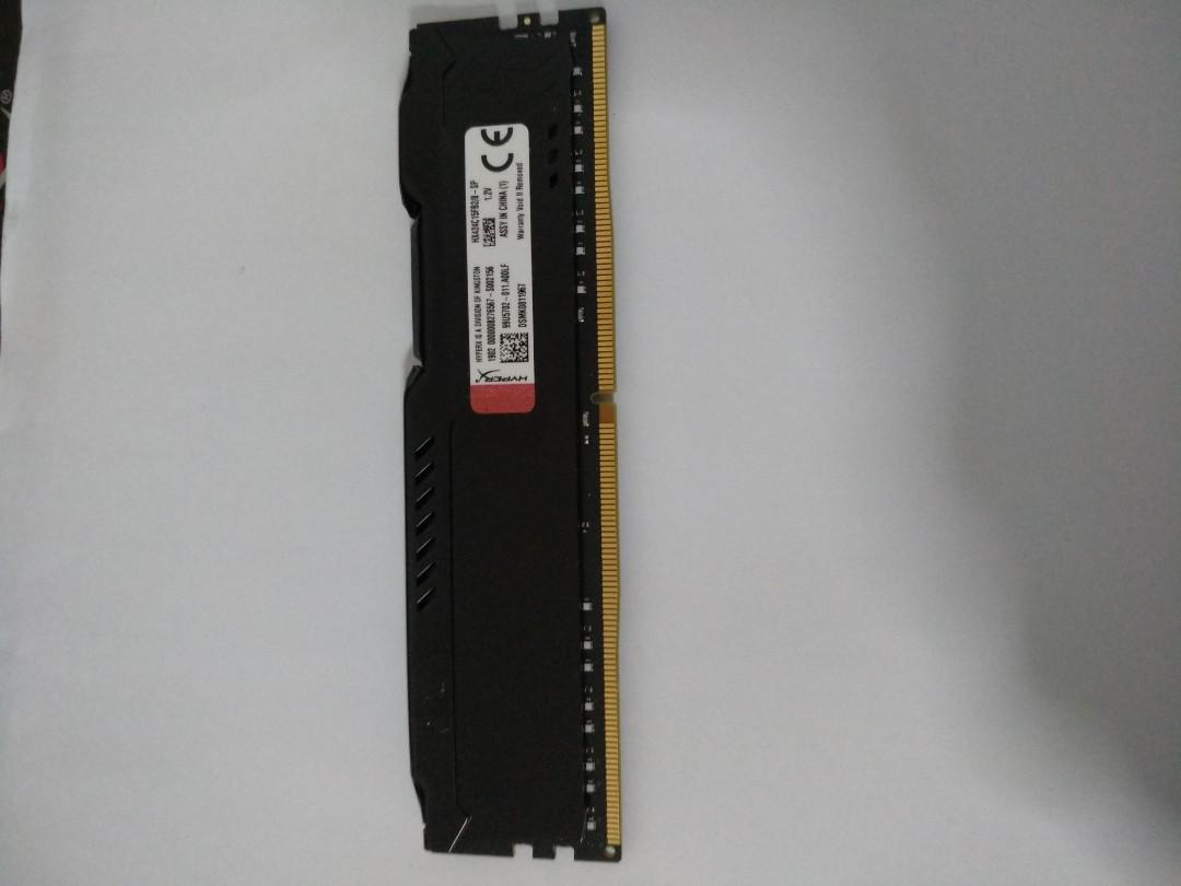 Kingston HyperX Fury DDR4 8GB RAM