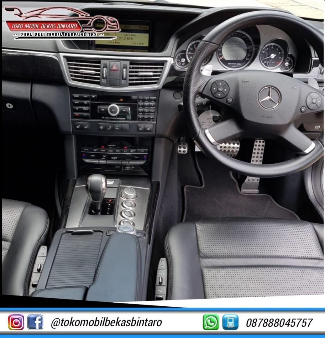 MERCEDEZ BENZ E63 AMG 2010 Kondisi Istimewa,Berkualitas Dan Siap Pakai