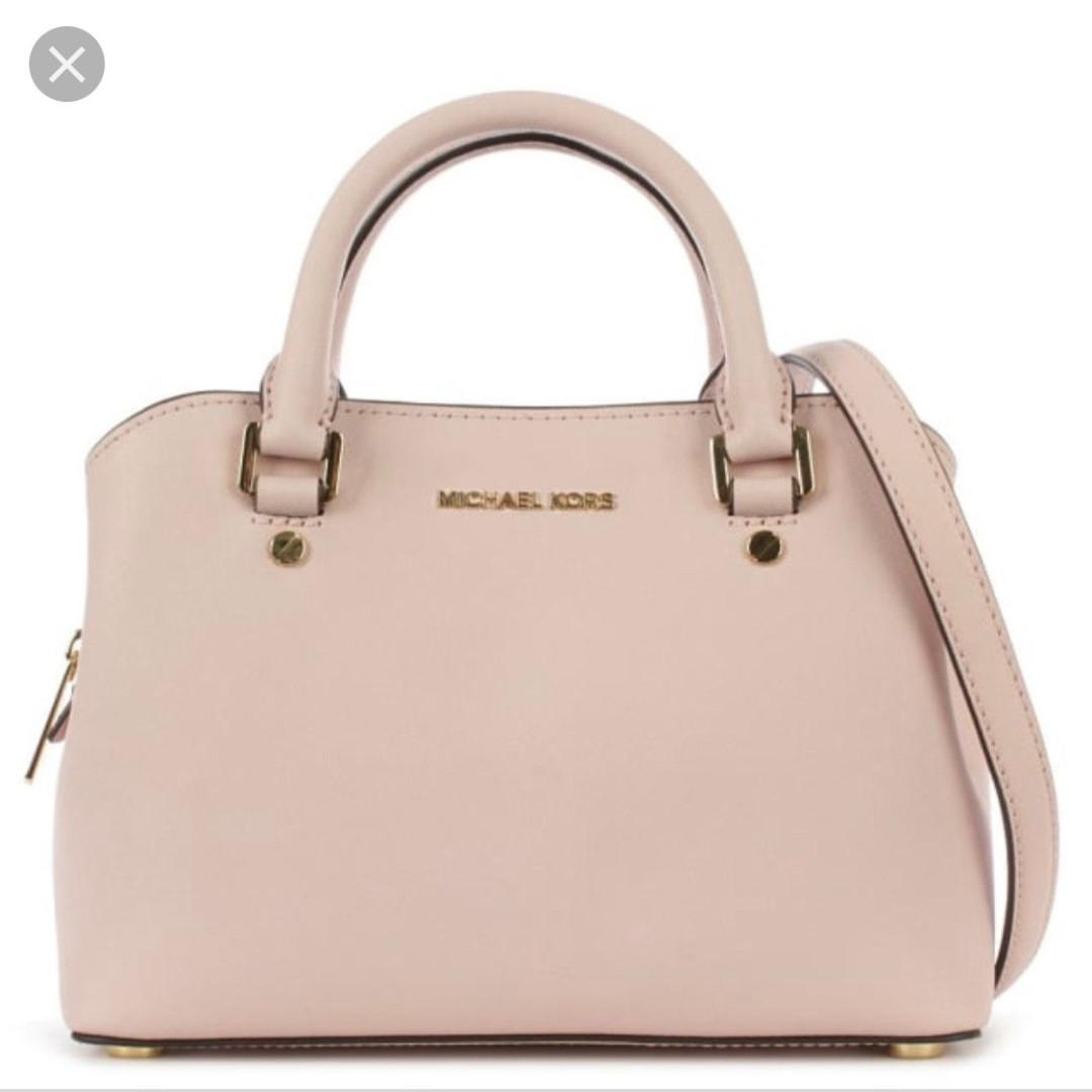 Michael Kors Savannah Small Satchel Bag Sling Bag