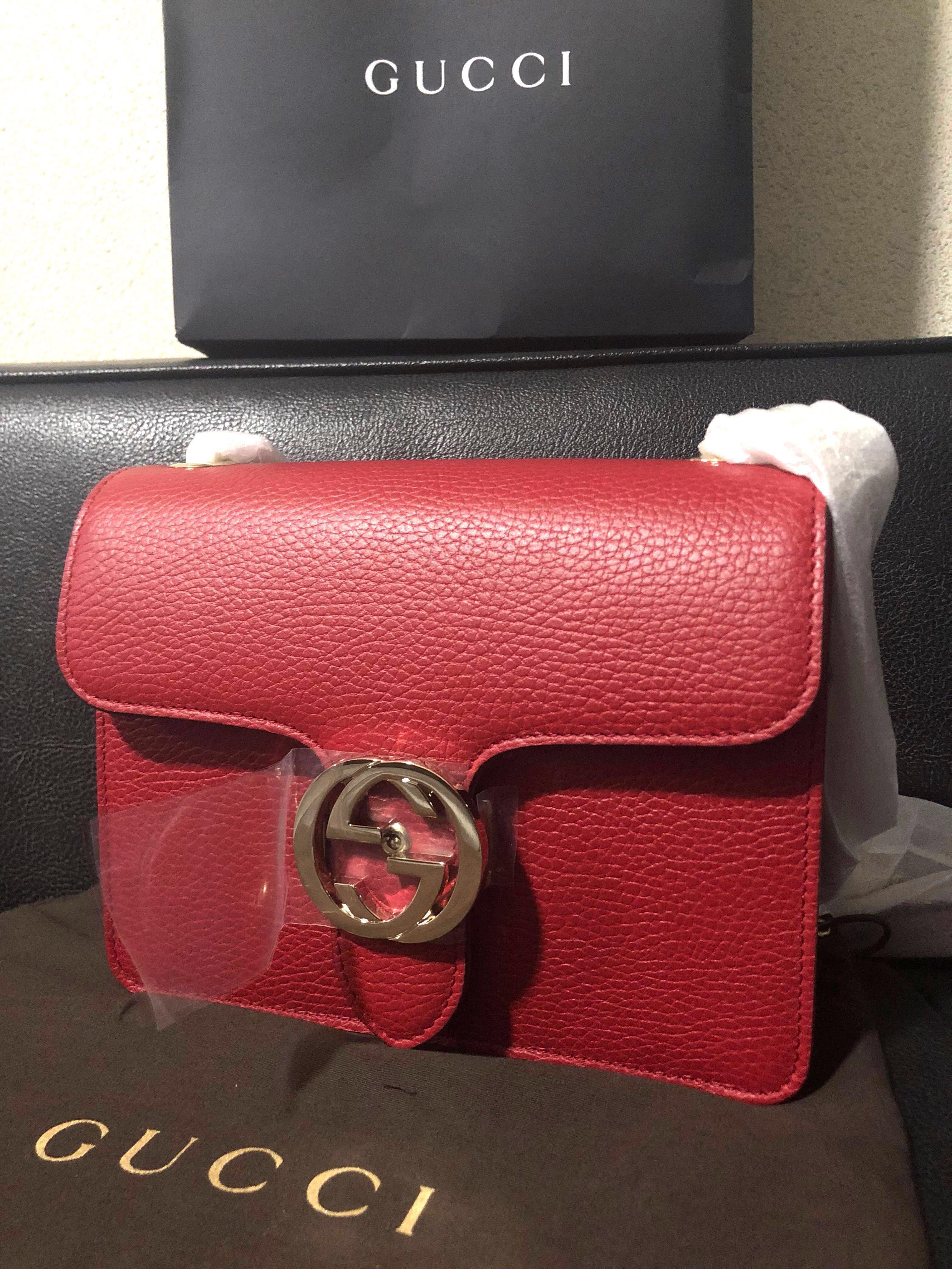 c4dfb00b3fa New! Authentic Gucci Pebbled Leather Bag