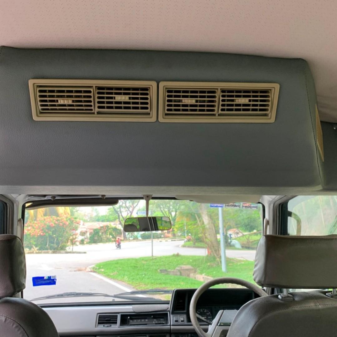 NISSAN VANETTE 1.5 (M) WINDOW VAN ** 8 SEATER ** REAR AIR COND