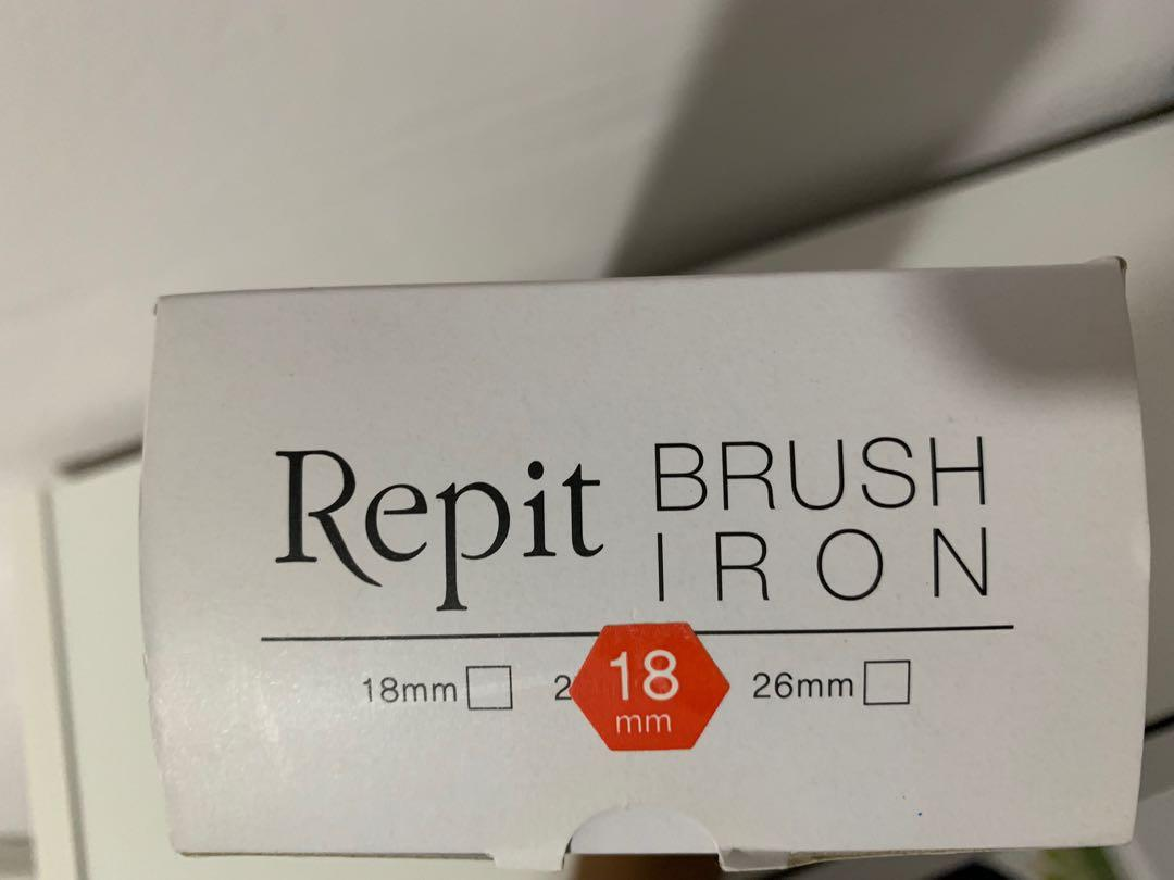 Original Korea Repit Brush Iron 18mm BNIB