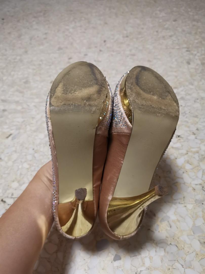 Pazzion Crystal heels