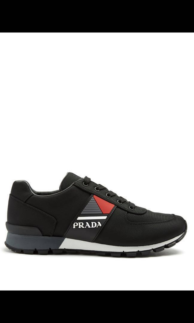 4472ebfb00805f Prada Technical Fabric Sneakers - Fall Winter collection - Size 11UK ...