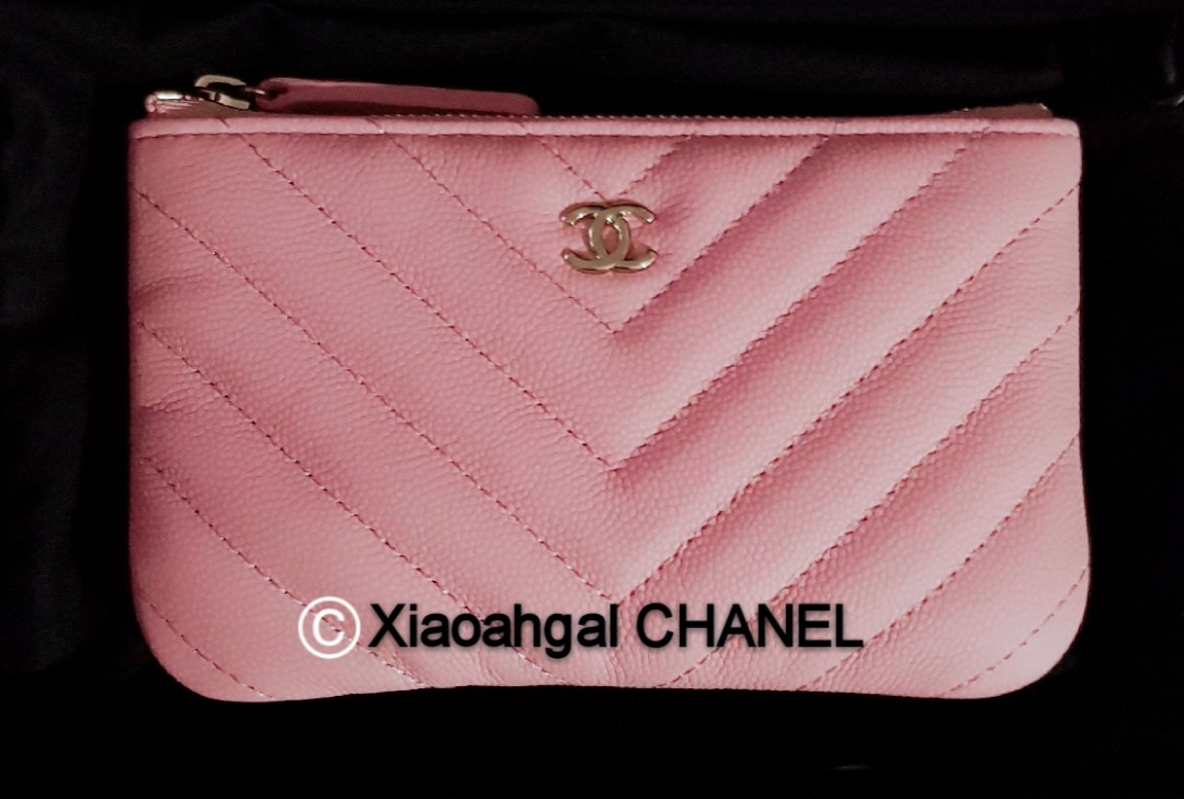 63bf55bc8bab QYOP •Rare Pink Caviar• Chanel unicorn Authentic limited chervon ...