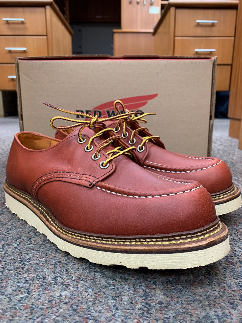 852987ff Red Wing Heritage Boots Oxford 8103 US9D Oro Russet Factory Seconds ...