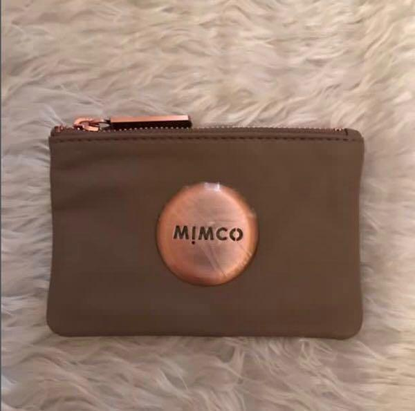 SALE!! Mimco medium pouch in tandem brown