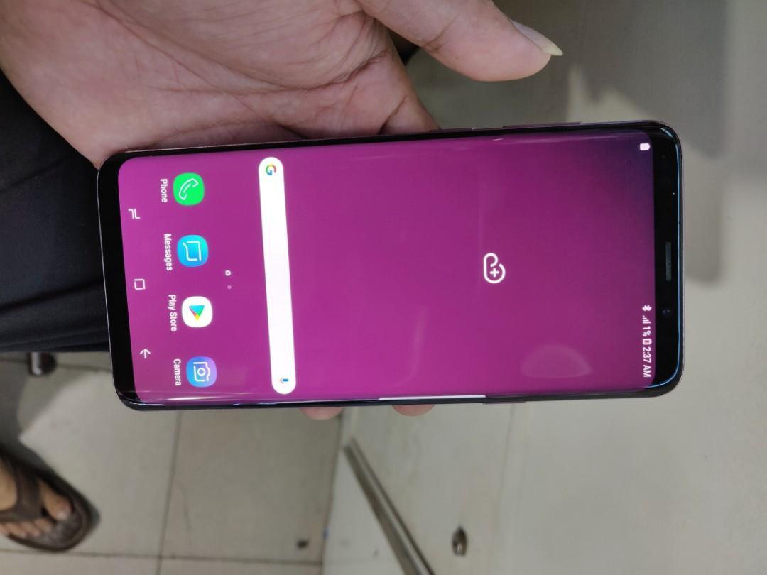 Samsung S9+ S9 plus 64gb bekas