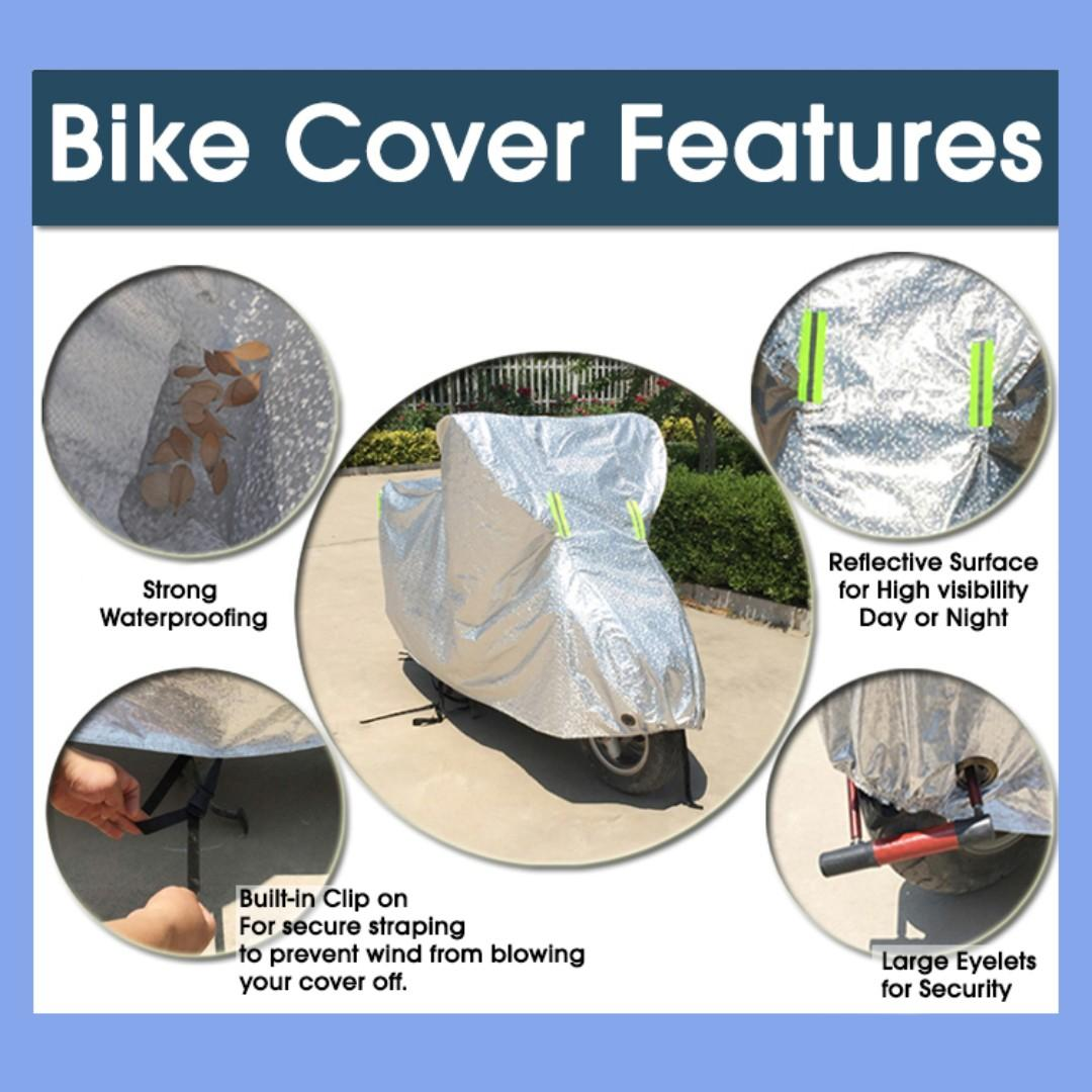 Scooter without Bike Cover