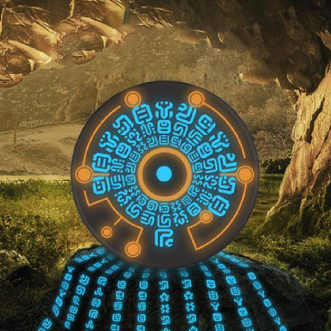 Sheikah Runes Legend of Zelda Wireless Charger
