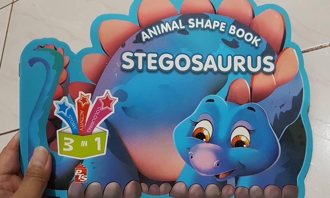 Stegosaurus - Animal Shape Book