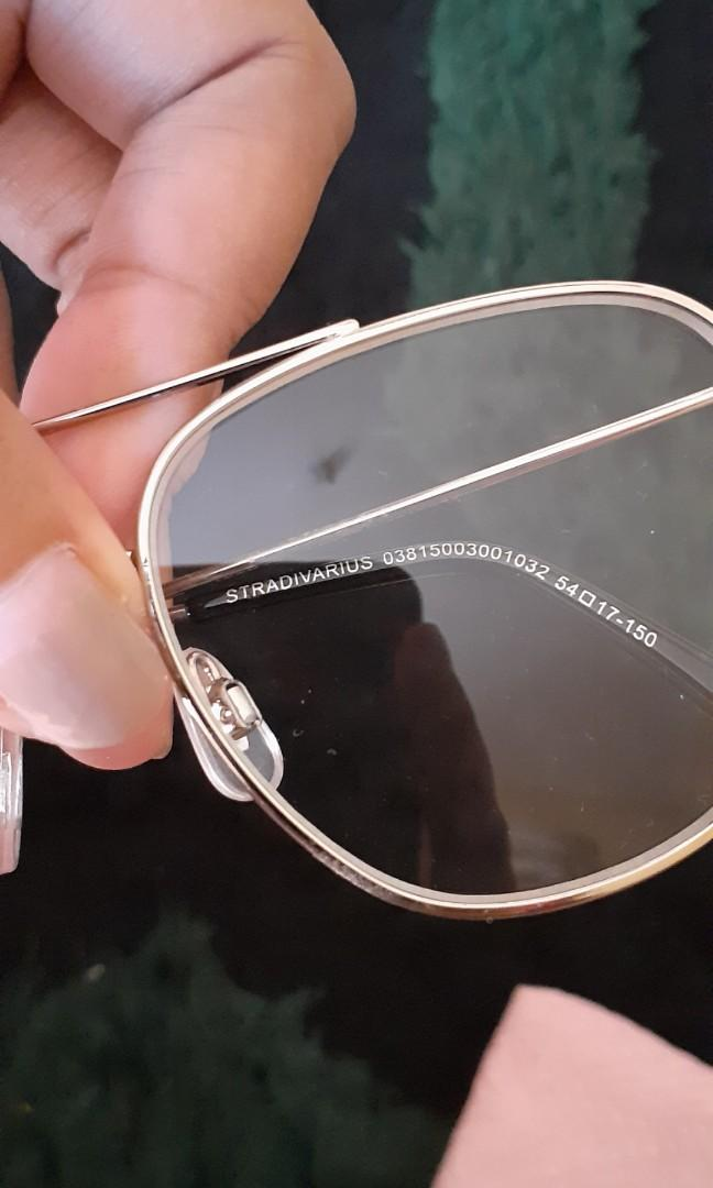 Stradivarius reading glasses kacamata sunglasses bukan zara h&m rubi vincci