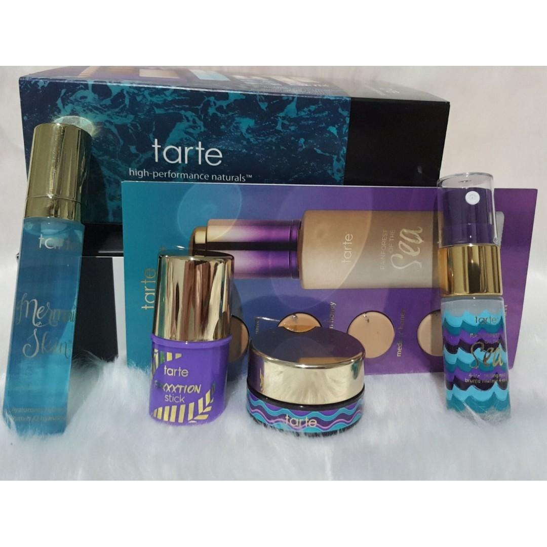 TARTE Glowgetter & Jetsetter Discover MINI Kit. BRAND NEW & AUTHENTIC [NO SWAPS, PRICE IS FIRM]