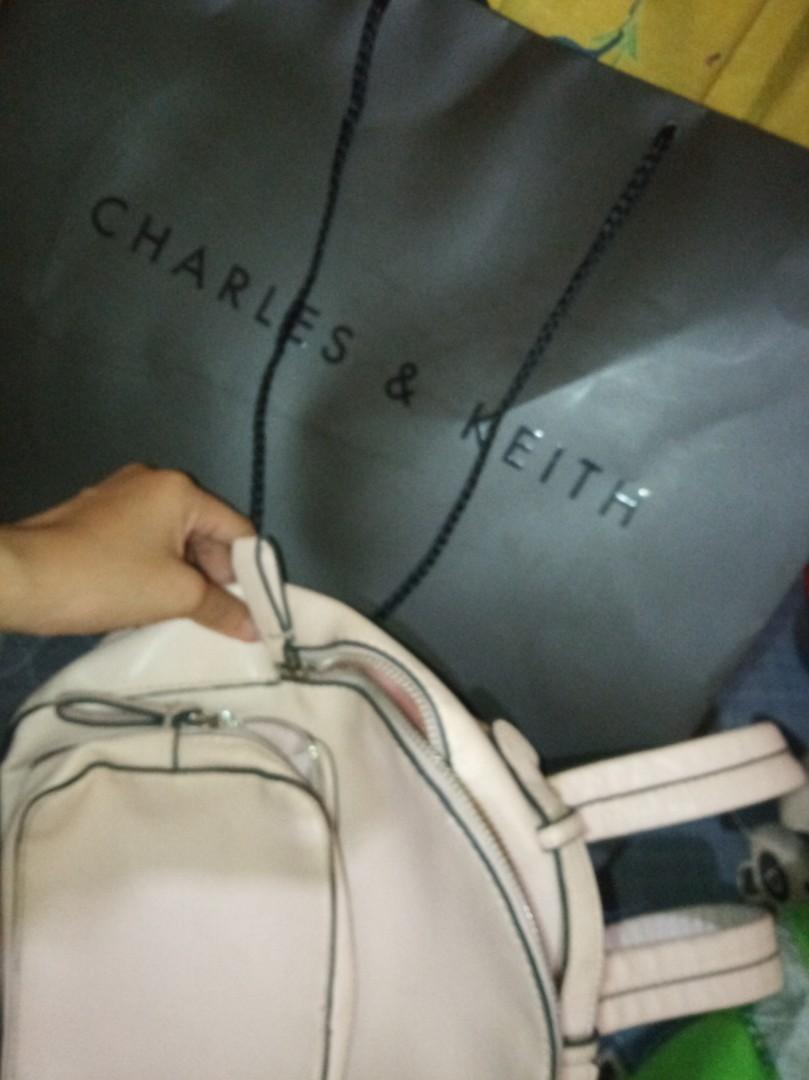 #Bapau Tas Charles and Keith backpack