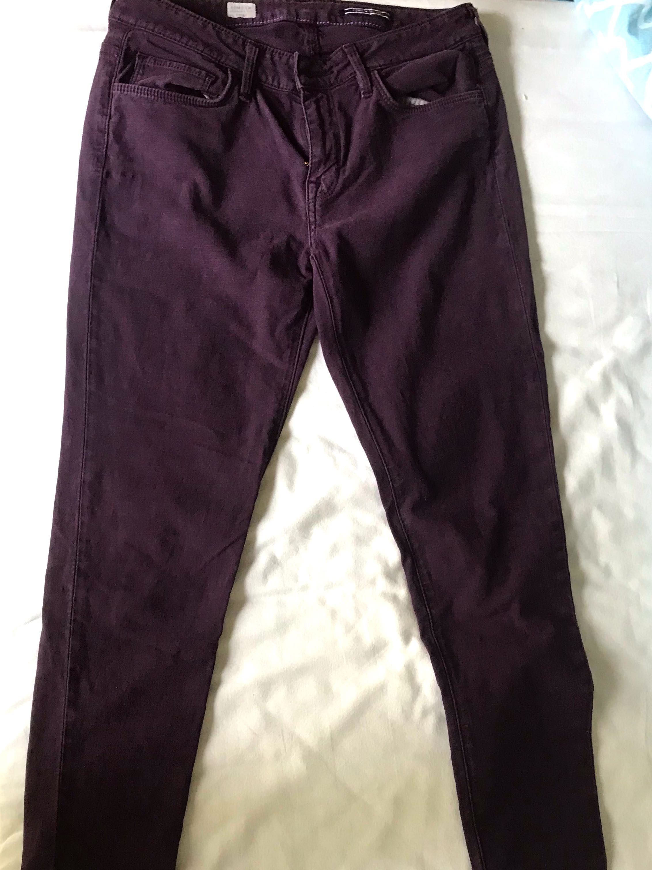 fc8aabfd4 Tommy Hilfiger Purple Jeans, Women's Fashion, Clothes, Pants, Jeans &  Shorts on Carousell