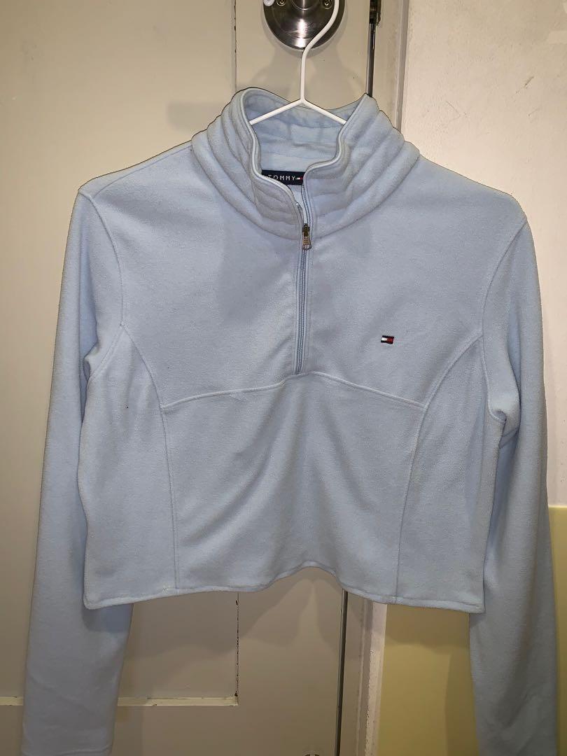 tommy hilfiger quarter zip jacket
