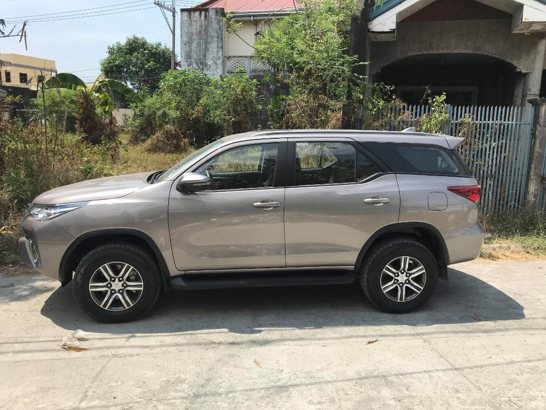 Toyota Fortuner G 2019. Assume Brandnew SUV. No bank approval