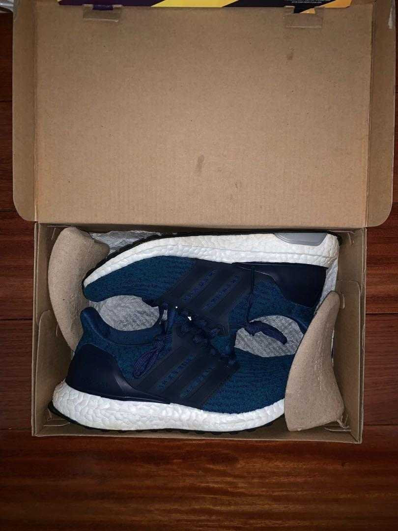 ultraboost 3.0 adidas shoes women navy blue size 4
