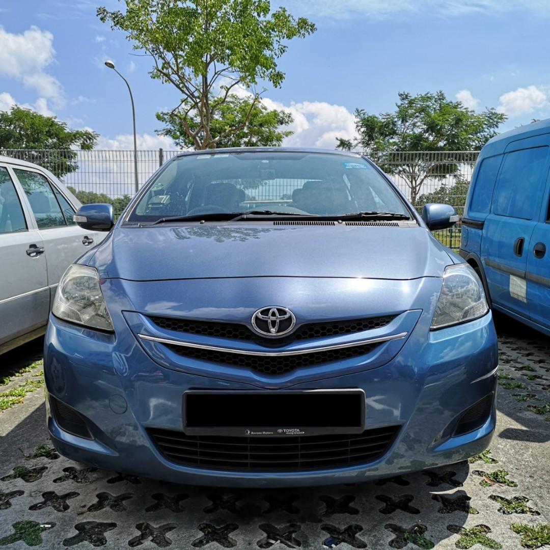 ✅Weekend/Weekly/Monthly Toyota Vios( Personal-Grab-Gojek )