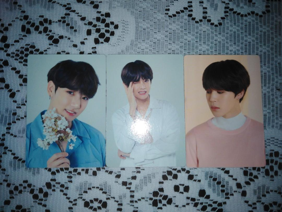 WTS BTS Love Yourself World Tour Mini Photo Card