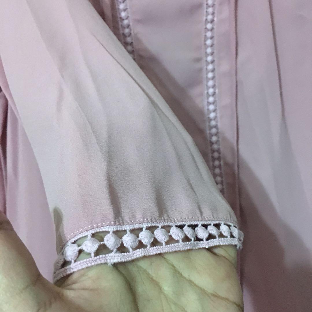 Zalia pink blouse