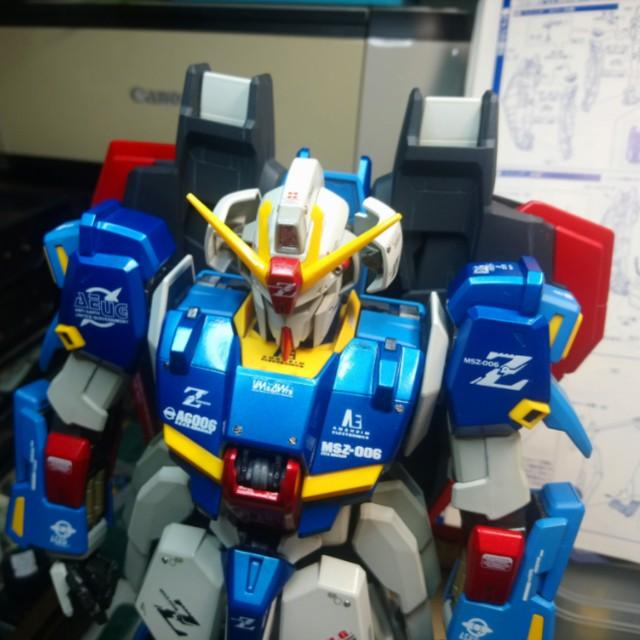 Zeta Gundam PG ( Commission Build )