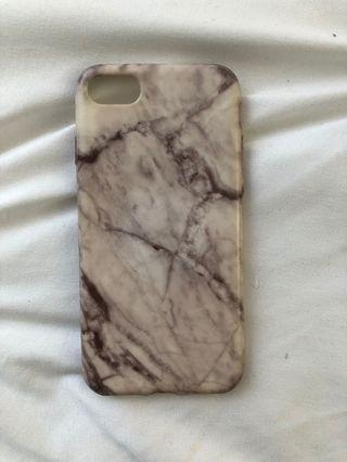 Marble iPhone 7 phone Case