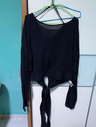 Cotton on crop pullover