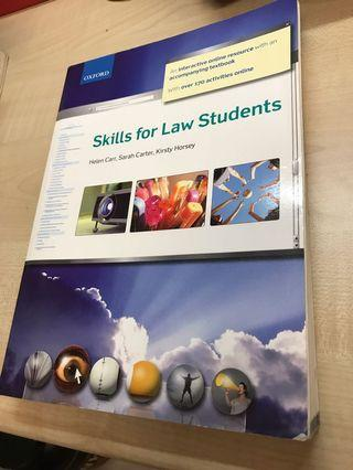 Oxford Skills for Law Students Textbook
