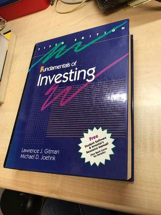 Fundamentals of Investing Textbook